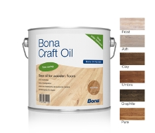 2-složkový olej s možností lokální opravy neutrální Bona Craft Oil 1,25l