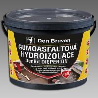 Gumoasfaltová hydroizolace DenBit DISPER DN Den Braven 5kg
