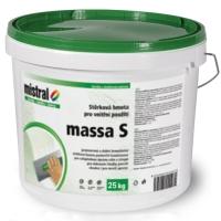 Mistral Massa S pastovitý stěrkový tmel pro interiér 25kg